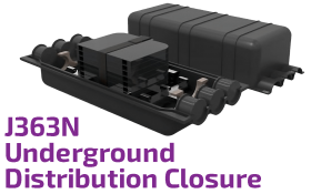 J363N Underground Optic Distribution Closure