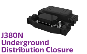 J380N Underground Optic Distribution Closure