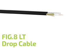 FIG.8 LT Optic Drop Cable