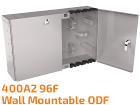 400A2 96F Wall Mountable Optical Distribution Frame