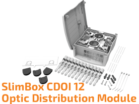 SlimBox CDOI 12 - Wall Mounted Optic Distribution Module