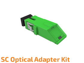 SC Optical Adapter Kit