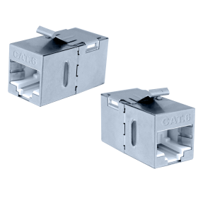 Category 6 FTP 180° Inline Coupler