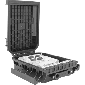1 Tray | 16 Fibers | 16 PLC | Outdoor Termination Box | 305216