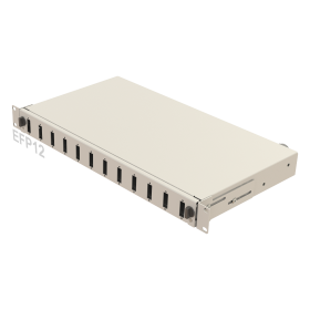 1U Mechanical Slide Fiber Patch Panel | 12 Holes | EFP12