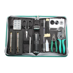 Fiber Optic Tool Kit with Visual Fault Locator | PK-6940