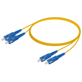 SC-SC | Single Mod - Dupleks Patch Cord | 2.0x4.1mm