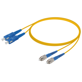 SC-FC | Single Mod - Dupleks Patch Cord | 2.0x4.1mm
