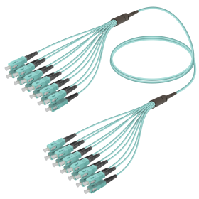 SC-SC | Multi Mod - 12 Fiber - Fanout Patch Cord | 3.0/1.8mm