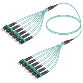 LC-LC | Multi Mod - 12 Fiber - Fanout Patch Cord | 3.0/1.8mm