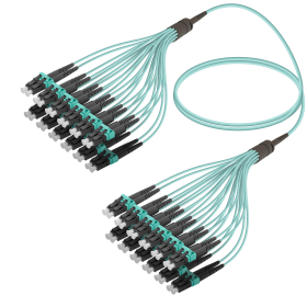 LC-LC | Multi Mod - 24 Fiber - Fanout Patch Cord | 3.0/1.8mm