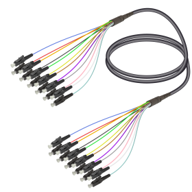 SC&LC | Multi Mode - 12 Fiber - Universal Fanout | 4.8/0.9mm
