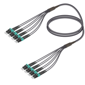 SC&LC | Multi Mode - 8 Fiber - Universal Fanout | 4.8/1.8mm