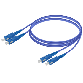 SC-SC | Zırhlı - Dupleks Patch Cord | 2.0x4.1mm