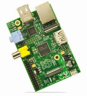 Kutulu Raspberry Pi Type B 512 MB