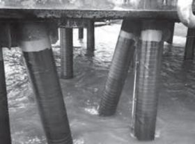 670/671 Pier Piling Coating